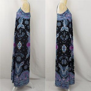 ECI Spaghetti Strap Long Maxi Style Dress Medium